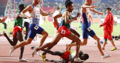 Punched' Ethiopian athlete reinstated in competition