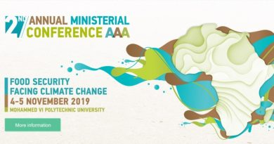 The Kingdom of Morocco hosting the 2nd Ministerial Conference of the African Adaptation Initiative for Climate Change (AAA Initiative)