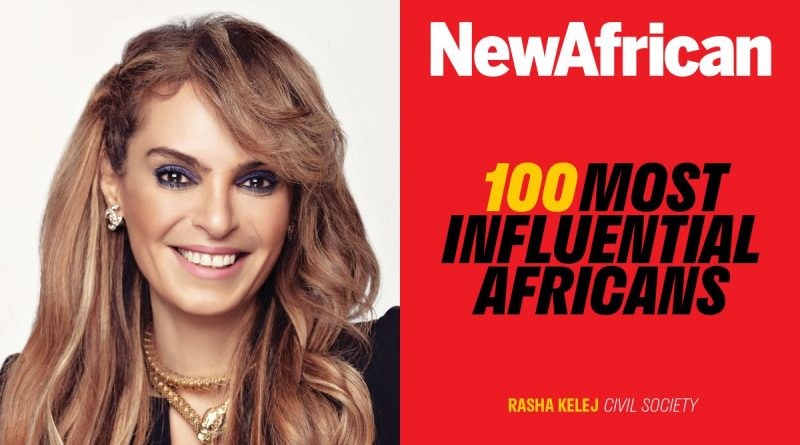 Rasha Kelej, the CEO of Merck Foundation makes it to the list of 100 Most Influential Africans 2019, for empowering many women through Merck More Than a Mother Movement