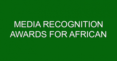 Media Recognition Awards for African Countries by Merck Foundation with First Ladies of Africa to raise awareness about Corona virus and how to stay safe and healthy