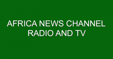 Africa News Channel Radio and TV establishment Law