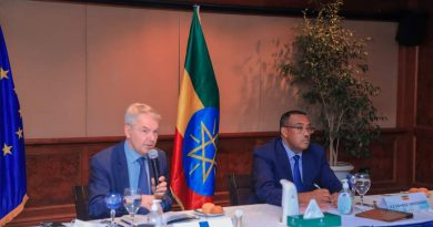 Ethiopian higher officials meets EU Special Envoy